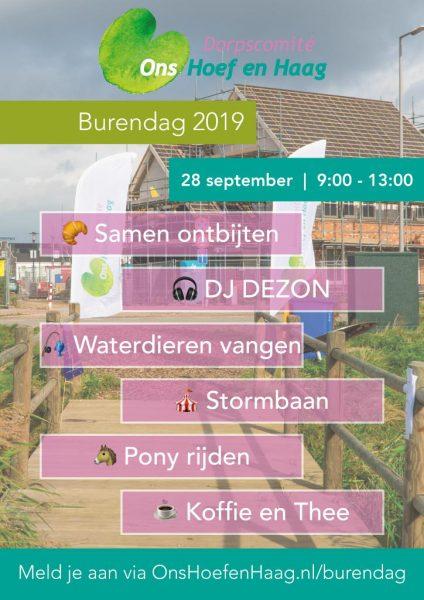 Flyer Burendag 2019
