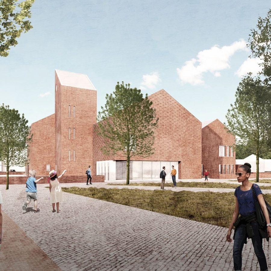 Schoolgebouw ontwerp 1