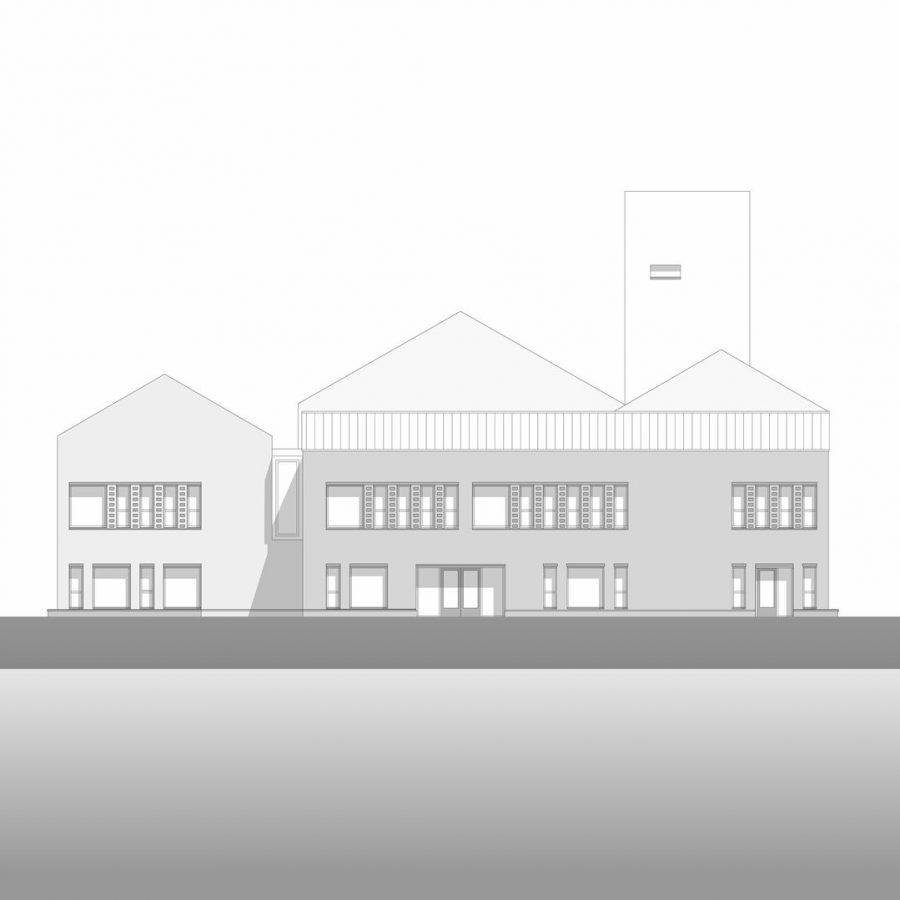 Schoolgebouw ontwerp 2