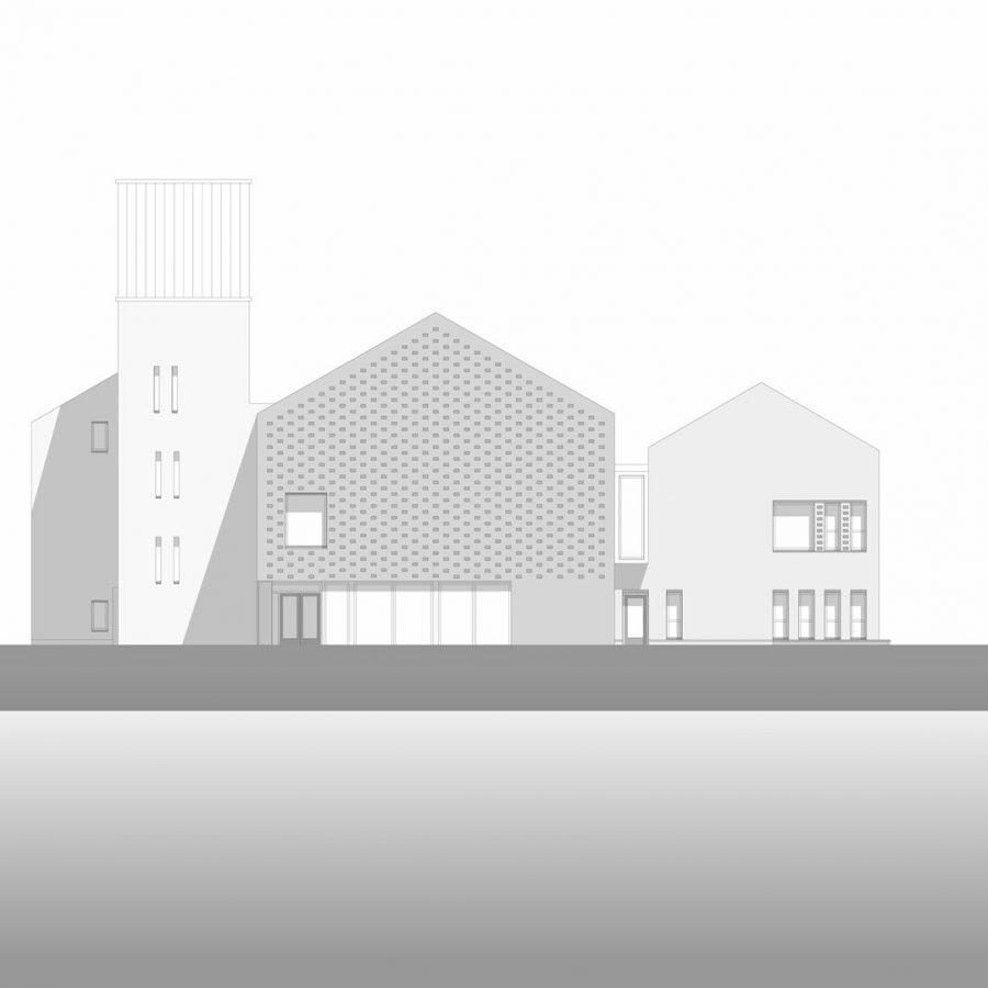Schoolgebouw ontwerp 4