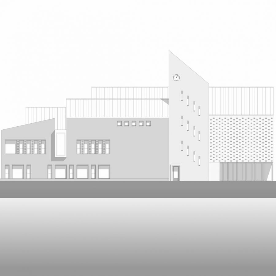 Schoolgebouw ontwerp 5